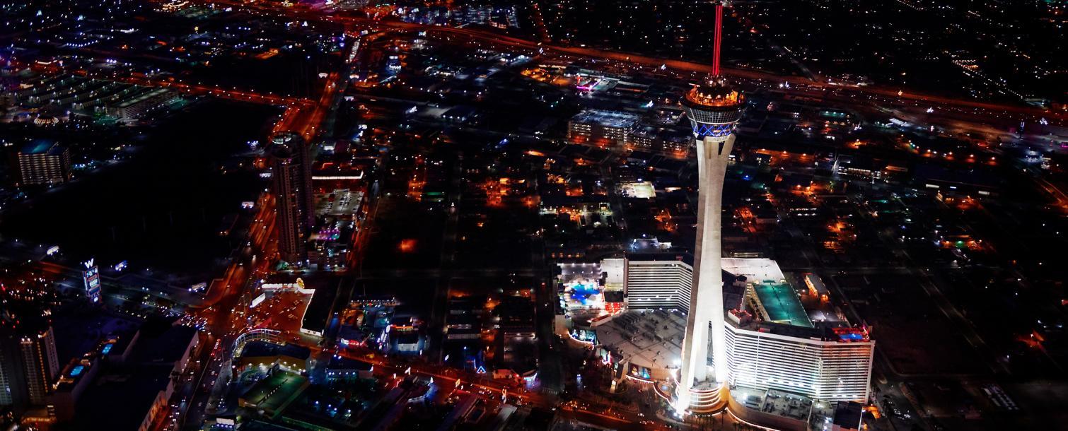 Las Vegas City Stratosphere