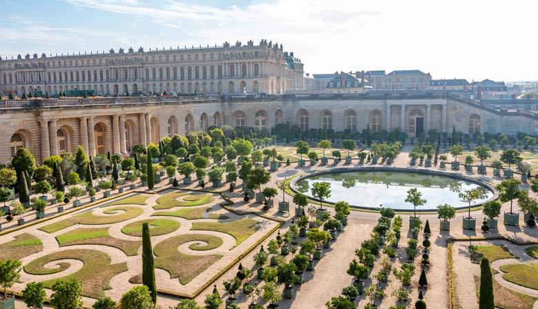 romantic places in versailles